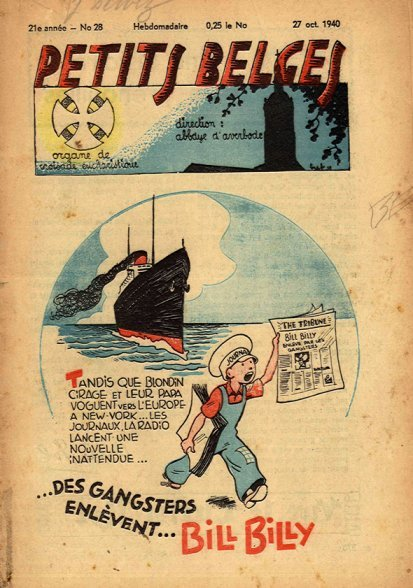 bande dessinee 1940